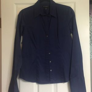 Banana Republic long sleeve blouse size small